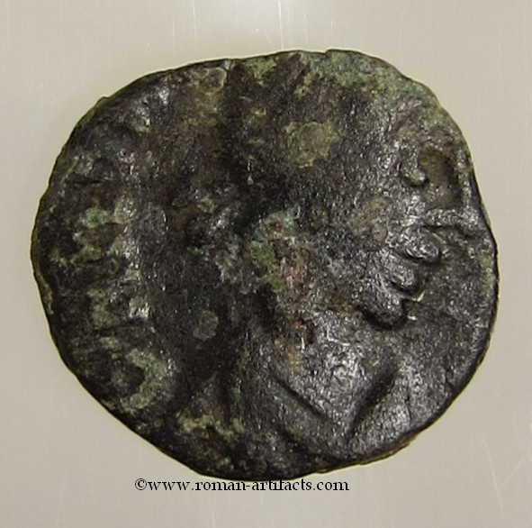 Small Bronze Coin Of The Vandalic Period Byzantine (300-1400 Ad) Ae Nummus