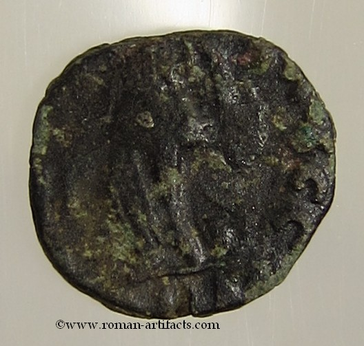 Small Bronze Coin Of The Vandalic Period Byzantine (300-1400 Ad) Coins & Paper Money Ae Nummus